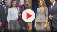 El Español: Letizia piensa que Melania Trump solo puede hablar sobre decoración
