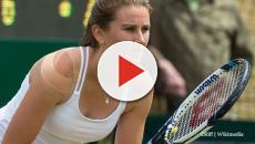 Tennis: Katy Dunne beat top 100 player Vikhlyantseva, at Nature Valley Classic