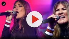 Amaia Montero vuelve a equivocarse en el escenario en el Canal Sur