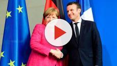 Emmanuel Macron et Angela Merkel à Berlin pour parler Europe