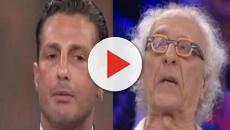 Fabrizio Corona sbotta contro Mughini: 'Ti compro e ti metto in giardino'