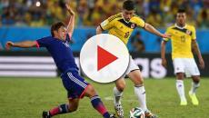 Colombia pierde contra Japón 2-0