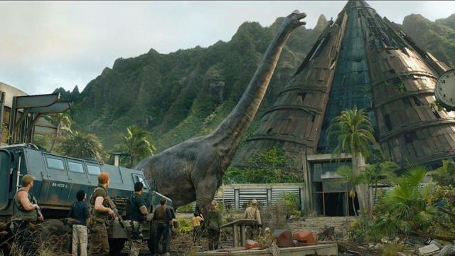 'Jurassic World: Fallen Kingdom' grosses £302 million worldwide in 13 days