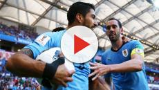 Uruguai vence e se classifica junto com a Rússia