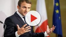 VIDEO: La lección que le dio Macron a un joven que le llamo