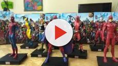 Las Figuras de Coleccion de Marvel Héroes 3D