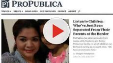 VIDEO: EE.UU./ Melania Trump visita centro de niños separados de sus padres