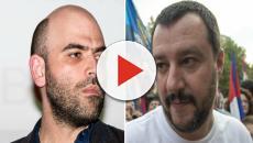 Salvini contro Saviano: Il botta e risposta non si ferma