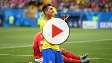 Brasil entra em campo para pegar a Costa Rica
