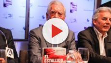 Vargas Llosa es hospitalizado tras sufrir caída en su casa