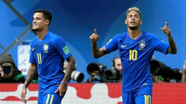 Mondial 2018 : Le Brésil s'impose sur le fil contre le Costa Rica (2-0)