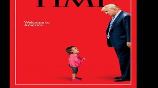 Bambini messicani in USA: la dura copertina del Time dedicata alla crisi