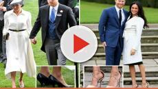 Meghan Markle seen wearing shoes