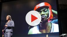 Claressa Shields takes down Hanna Gabriels in tough boxing test