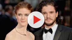 VÍDEO: Kit Harington y Rose Leslie se casaron en Escocia