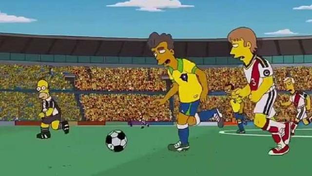 'Los Simpson' hacen una predicción de la final del Mundial