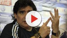 Maradona: su il dito medio dopo il secondo gol dell'Argentina contro la Nigeria