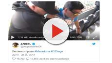 Argentina-Nigeria, Maradona: prima mostra il dito medio poi accusa un malore