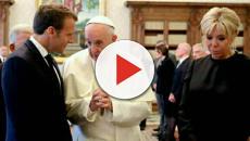 Emmanuel Macron longuement reçu par le Pape François au Vatican