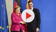 Merkel promete a Pedro Sánchez apoyar a España con la llegada de inmigrantes