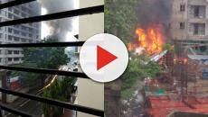 Mumbai, aereo precipita e colpisce un passante: 5 morti