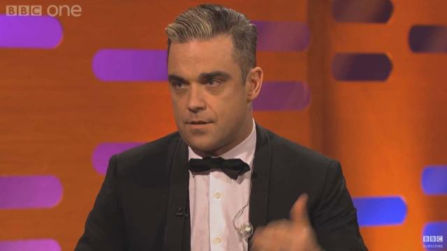 Robbie Williams believes he has Asperger Syndrome or similar