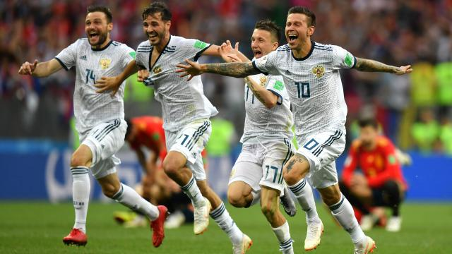 Highlights: Russia defeats Spain in shootout, advances to FIFA quarter-finals
