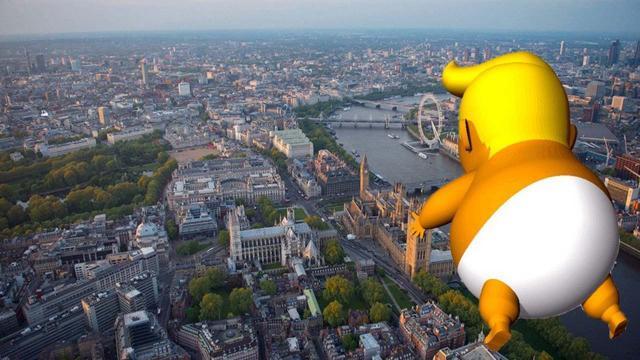 Donald Trump UK Visit: 'Trump Baby' balloon causing controversy