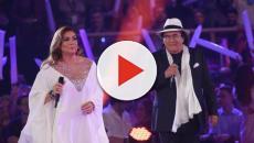 Albano e Romina, forse si sono scambiati un bacio sul palco di Genova