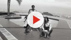 Kim Kardashian and Kanye West's daughter North West models for Fendi