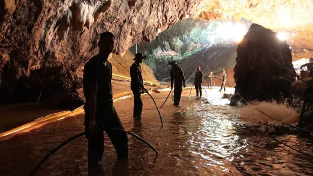 Two Hollywood movies coming up on the daring Thai cave rescue mission