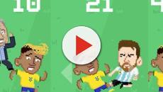 Quedas de Neymar durante jogos da Copa 2018 inspiraram um novo game