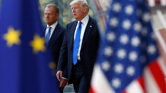 VÍDEO: Trump carga contra España en la OTAN por sus bajo costos en Defensa