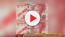 Nelson Mandela Centenary Notes: Bank notes have not been issued as collectables
