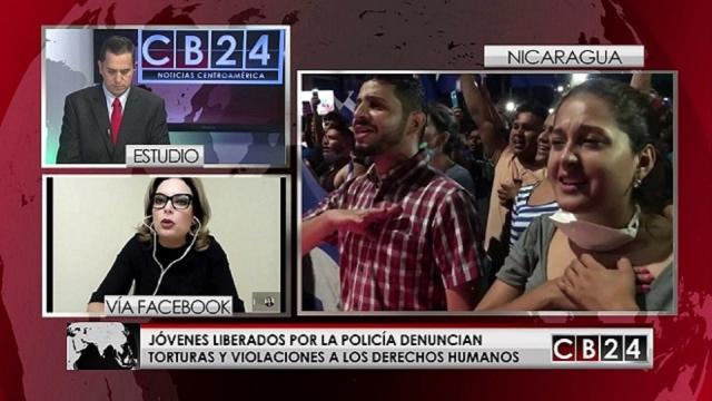 VIDEO:Torturasos en las cárceles de Nicaragua dicen que oían acentos cubanos