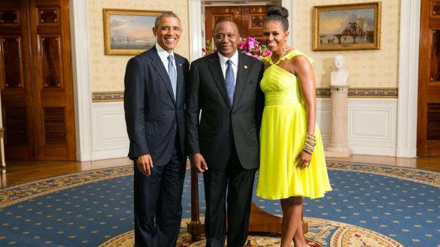 Nairobi: Barack Obama arrived in Kenya this weekend; not much fuss made over him