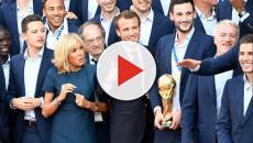 Les Bleus acclamés sur les Champs-Elysées