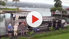 Kilauea volcano: 23 injured on tour boat