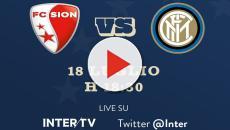 Sion-Inter in diretta anche su Twitter