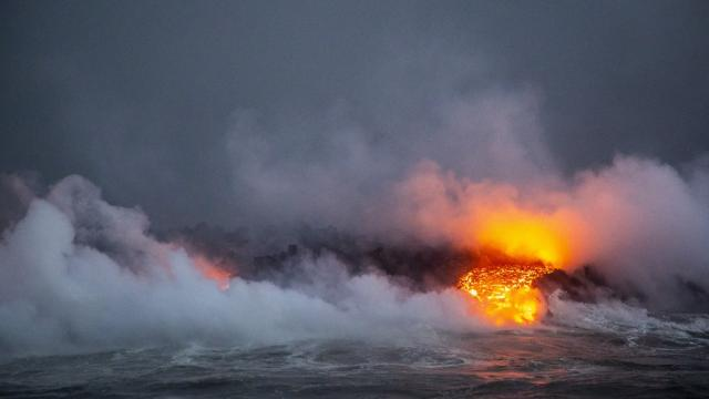 Kilauea volcano: 'Lava bomb' injures 23 on Hawaii boat