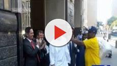VíDEO: Hombre recuperó libertad, luego de estar preso injustamente por 25 años