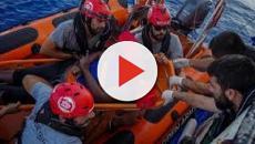VÍDEO: Rescatada migrante del mar Mediterráneo, luego de 48 horas a la deriva