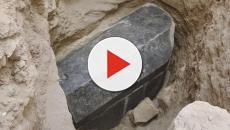 Sarcófago encontrado no Egito pode pertencer a Alexandre, o Grande
