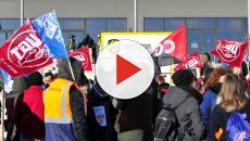 VÍDEO: Un herido y varios detenidos en huelga de los trabajadores de Amazon