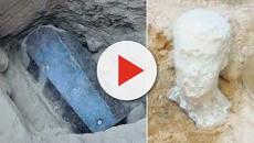 VÍDEO: Sarcófago encontrado en Egipto no era el de Alejandro Magno