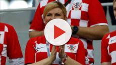 VIDEO: La aficionada y presidenta de Croacia apoya políticas antinmigración