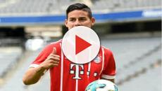 VIDEO: James seguirá una temporada más en el Bayern