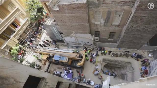 Egyptian archaeologists open mysterious sarcophagus despite warnings of curse