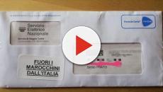 Prato: adesivi razzisti sulle buste delle bollette