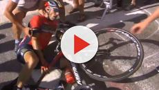 VÍDEO: La etapa del Alpe d'Huez del Tour se ve empañada por incidentes